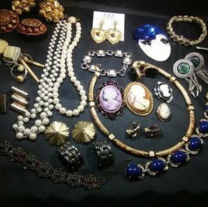 Designer jewelry lot Vintage modern mix